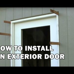 How To Install an Exterior Door - Video 14 of 15