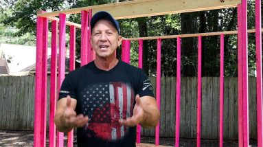How to build a shed (Headers for doors)|Paulstoolbox